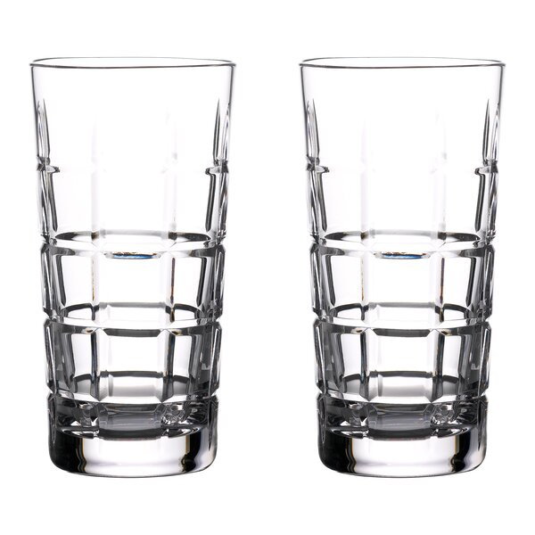 Cluin 16 Oz. Crystal Highball Glass (Set of 2) by Waterford