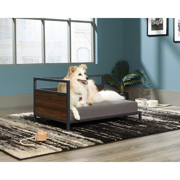 DOG CUSHION LARGE RED TARTAN PET DOG BED FLEECE FLOOR CUSHION CAT