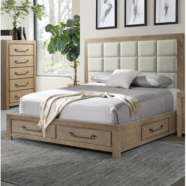 Schwab Upholstered Storage Platform Bed by Gracie Oaks