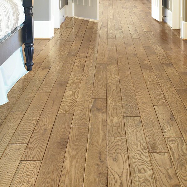 Sweetwater 4 Solid White Oak Hardwood Flooring in Butler by Shaw Floors