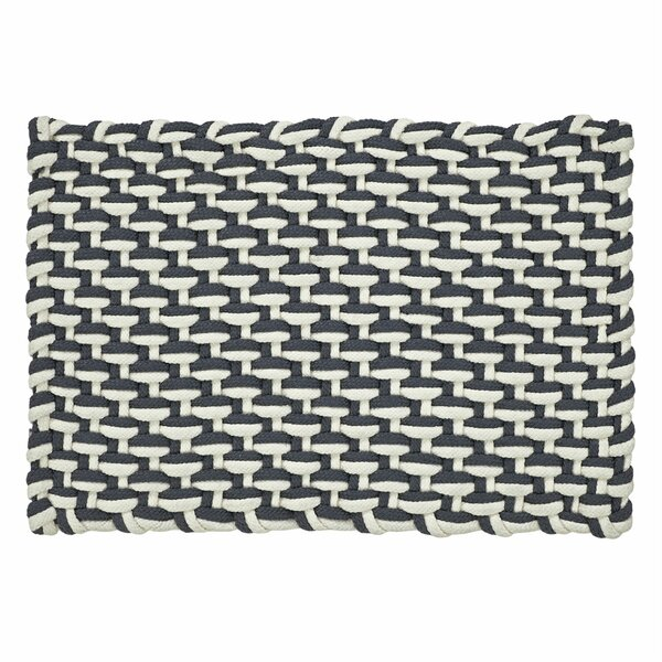 Brandon Stranded Braid Hand-Woven Gray/Ivory Area Rug by Highland Dunes