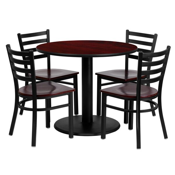 Sanket 5 Piece Dining Set by Red Barrel Studio