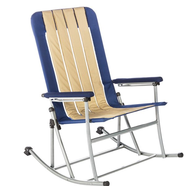 Jacquelyn Folding Rocking Camping Chair by Freepor
