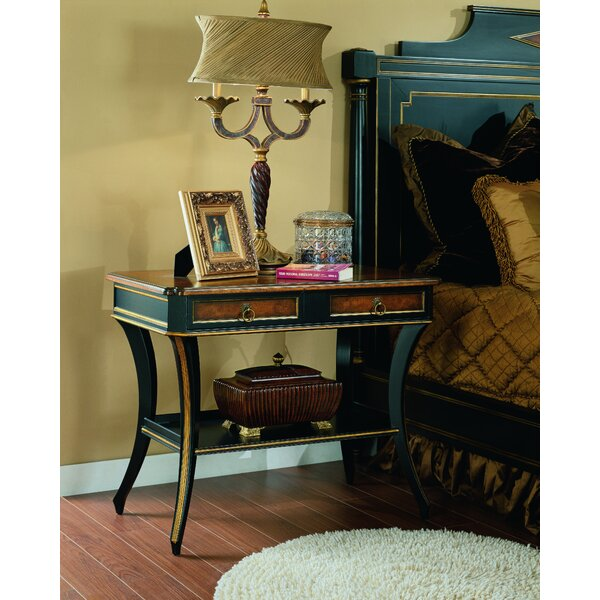 Regency 2 Drawer Nightstand by Eastern Legends