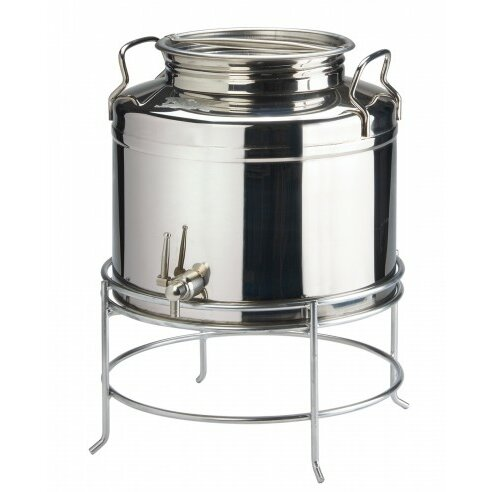 3 Gallon Stainless Beverage Dispenser by Cal-Mil
