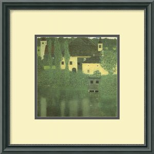 'Schloss Unterach on the Attersee' by Gustav Klimt Framed Painting Print by Amanti Art