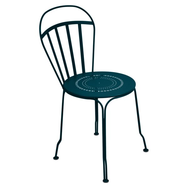 Louvre Stacking Patio Dining Chair (Set of 2) by Fermob