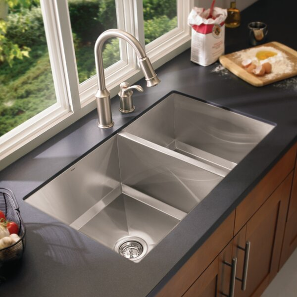 1600 Series Double Bowl Kitchen Sink by Moen