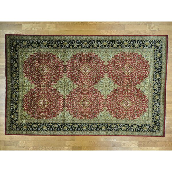 One-of-a-Kind Benally Handwoven Red Wool Area Rug by Isabelline