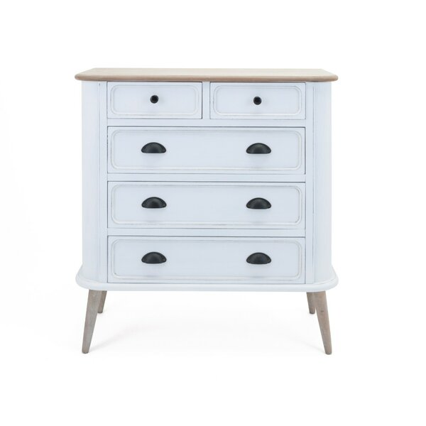 Caressa Versatile 5 Drawer Accent Chest
