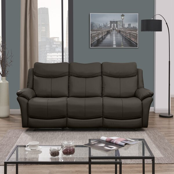 Jabari 3 Seat Wall Hugger Reclining Sofa by Red Barrel Studio