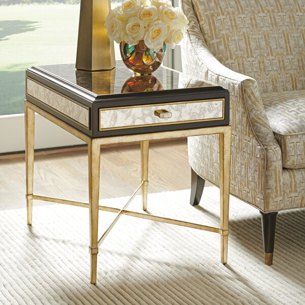 Carlyle End Table with Storage by Lexington Lexington
