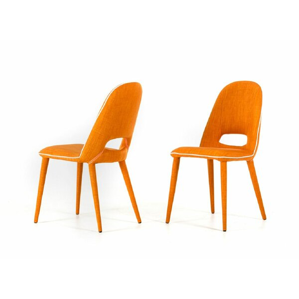 Camron Modern Upholstered Side Chair (Set of 2) by Orren Ellis