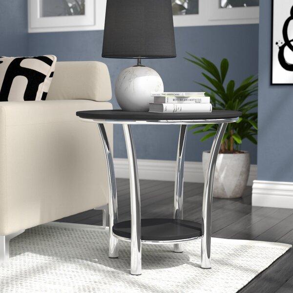 Wrought Studio Dobbs Ferry End Table & Reviews   Wayfair
