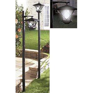 Modern Home Outdoor 1 Light 61  Post LightSolar Powered Post Lights You ll Love   Wayfair. Outdoor Solar Lamp Post. Home Design Ideas