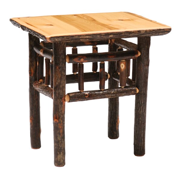 Hickory End Table by Fireside Lodge Fireside Lodge