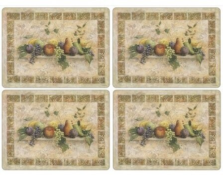 Tuscan Palette Placemat (Set of 4) by Pimpernel