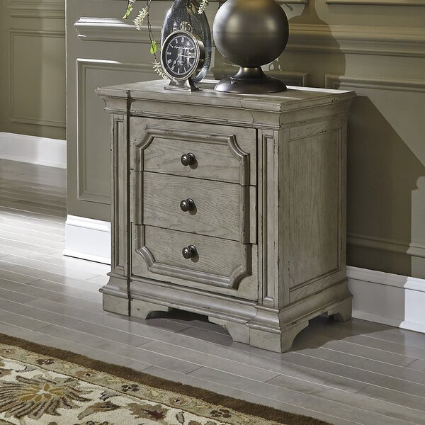Sunnydale 3 Drawer Nightstand by Canora Grey