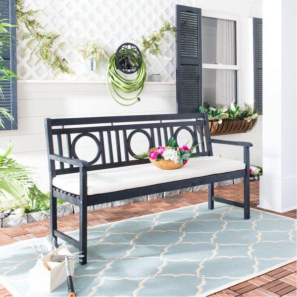 Kuhlmann Wooden Garden Bench by Birch Lane Heritage Birch Lane™ Heritage
