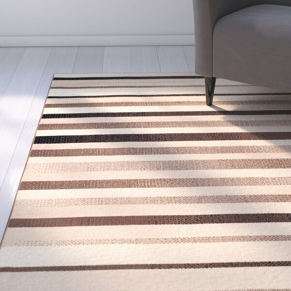 Buckingham Brown/Beige Area Rug by Zipcode Design