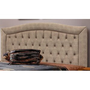 Glendon Queen Upholstered Panel Headboard by Latitude Run