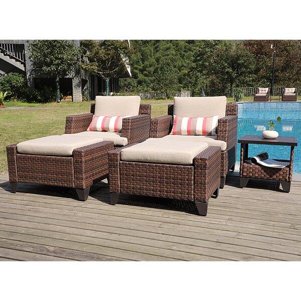 Rani 5 Piece Sofa Seating Group with Cushions by Latitude Run