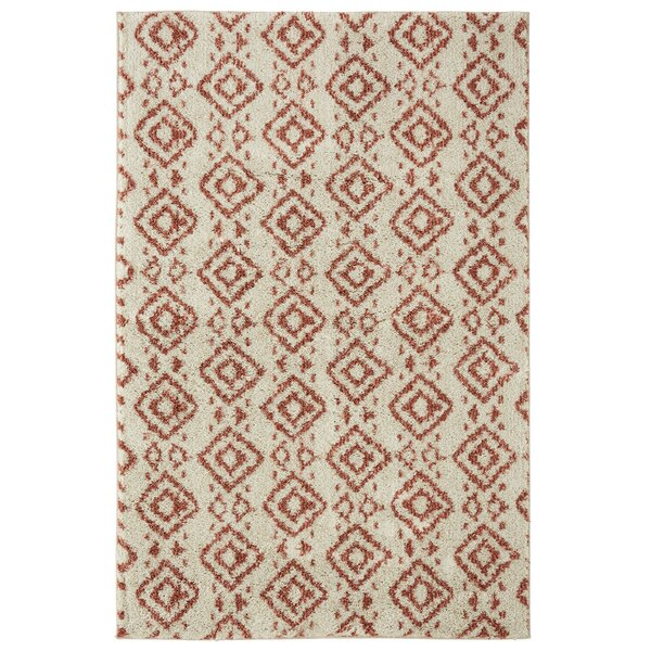 Mohawk Laguna Tangier Coral/Beige Area Rug by Under the Canopy