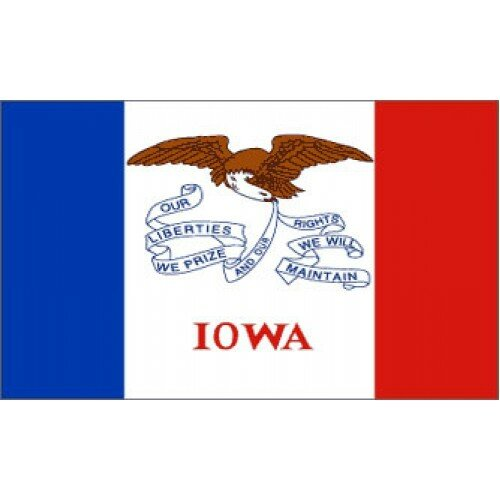 Iowa Traditional Flag by NeoPlex