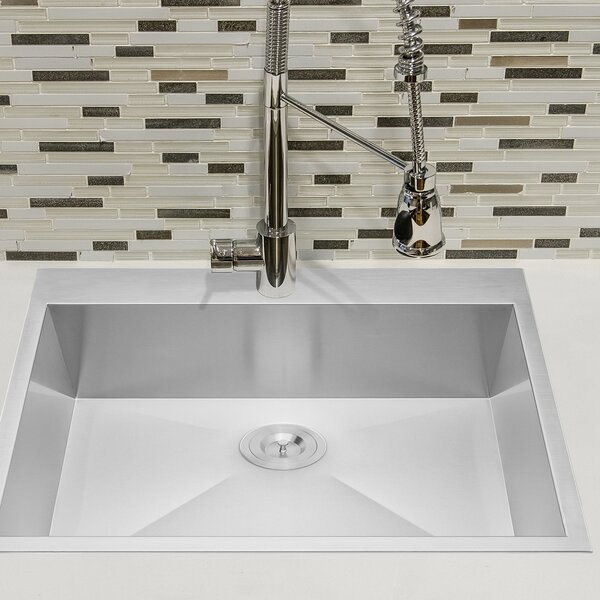 25 x 22 Drop-In Kitchen Sink by AKDY