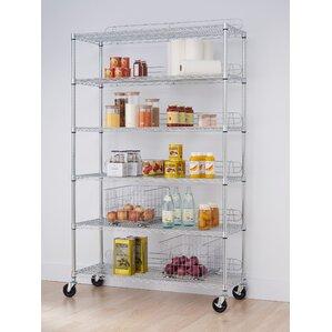 nsf 77 h 6 shelf shelving unit starter. Interior Design Ideas. Home Design Ideas
