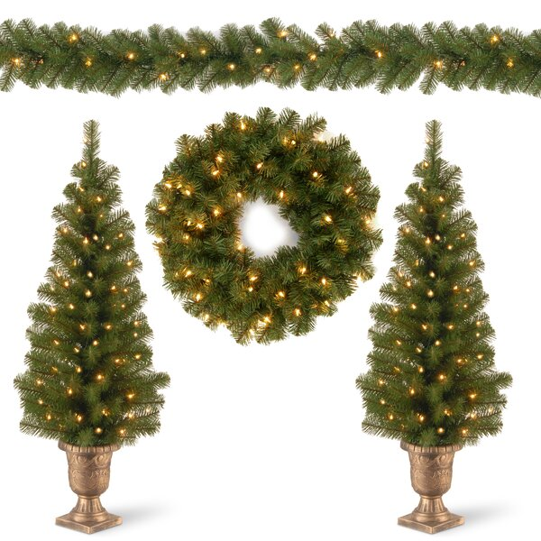 Christmas Decorating Garland And Swag Kit Assortment By Darby Home Co.