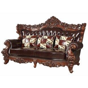 Keagan Leather Sofa
