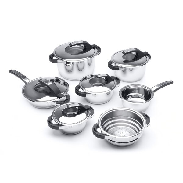 Virgo 12-Piece Cookware Set by BergHOFF International