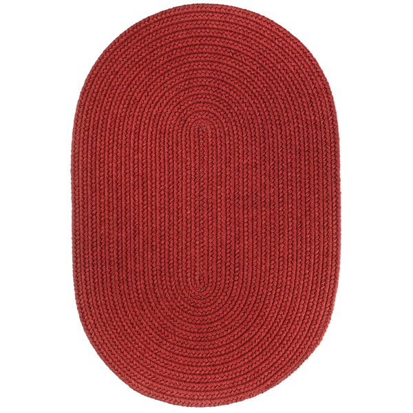 Handmade Red Area Rug by The Conestoga Trading Co.