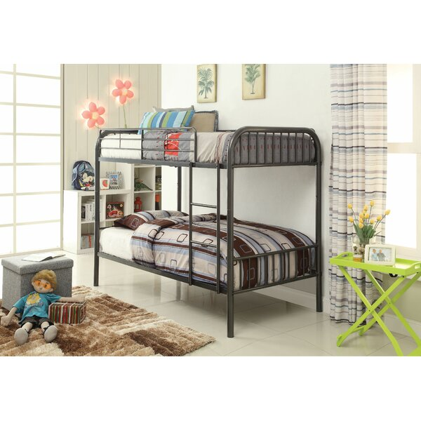 Homan Convertible Twin Bunk Bed by Harriet Bee