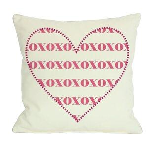 xoxo furniture. XOXO Heart Throw Pillow Xoxo Furniture T