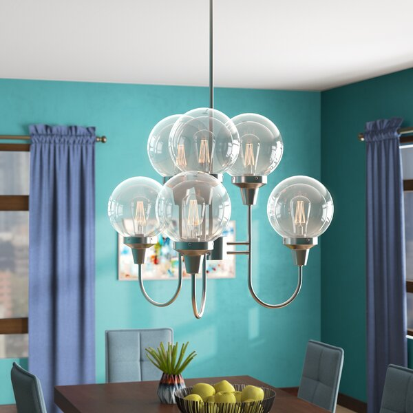 Tristin Indoor 6-Light Candle-Style Chandelier by Langley Street