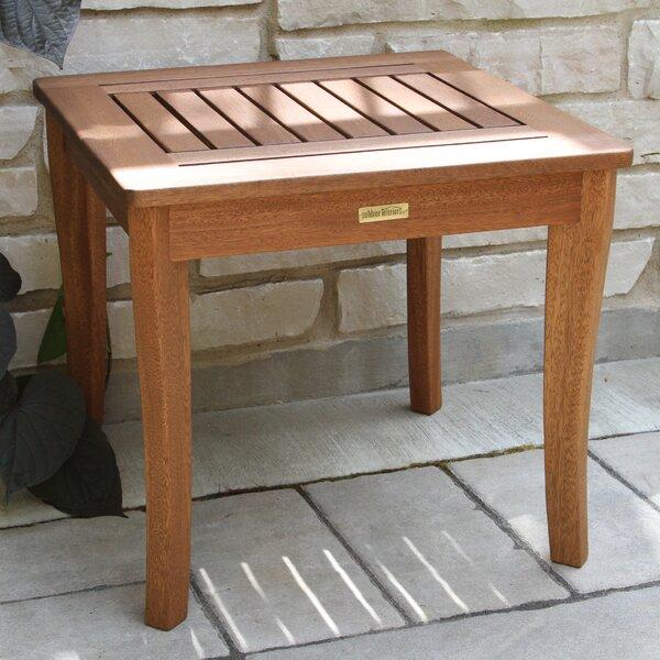 Norton Wood Side Table By Loon Peak