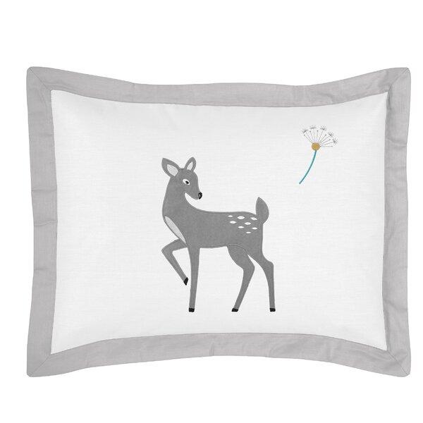 Forest Deer Sham by Sweet Jojo Designs