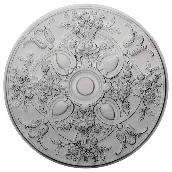 Baile 31 1/4H x 31 1/4W x 2 1/4D Ceiling Medallion by Ekena Millwork