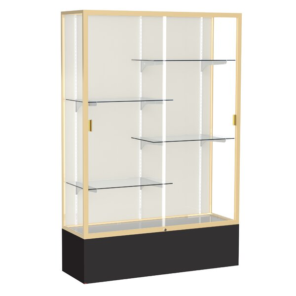 Spirit Series Floor Display Case by Waddell
