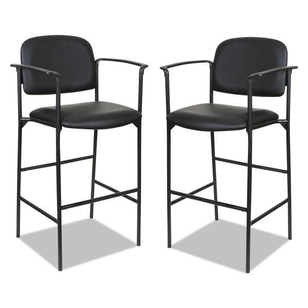 Yokoyama Shop Stool (Set of 2) by Symple Stuff