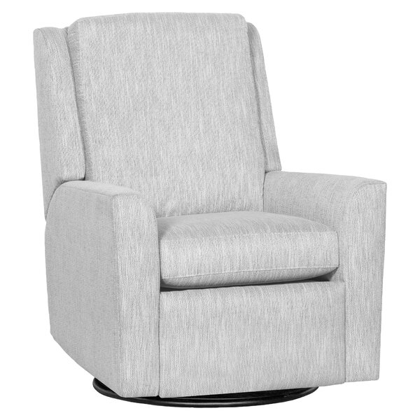 Hickory Arm Manual Swivel Glider Recliner By Fairfield Chair