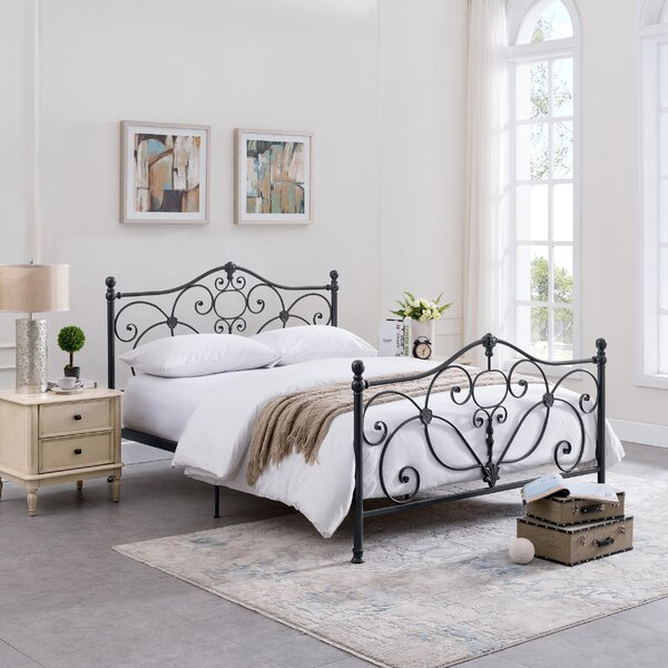 Rutland King Platform Bed by Alcott Hill