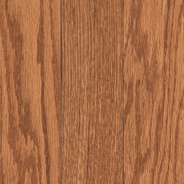 Walbrooke 3-1/4 Solid Oak Hardwood Flooring in Rich Gunstock by Mohawk Flooring