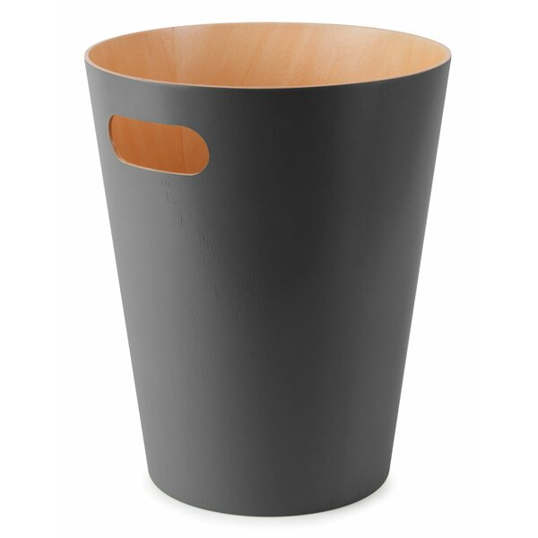 Woodrow 2 25 Gallon Waste Basket By Umbra.
