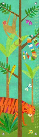 In The Jungle Growth Chart by Oopsy Daisy