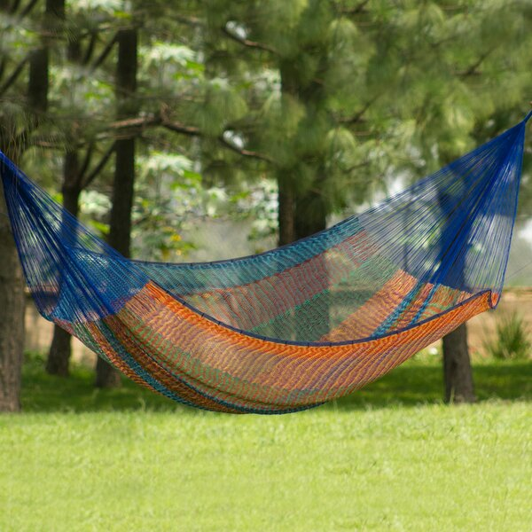 Cotton Camping Hammock by Novica