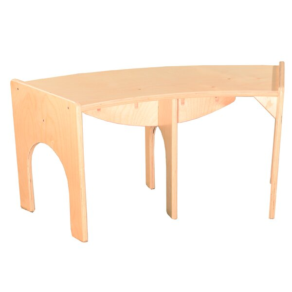 Curved Wood Bench by Wood Designs