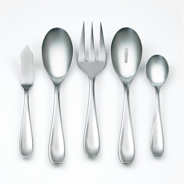 Ruby Mirror 45-Piece Flatware Set by Corelle